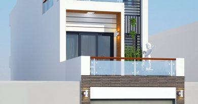 Thiết kế nhà phố 3 tầng đẹp Anh Kiên Chị Hà huyện Việt Yên Tỉnh Bắc Giang