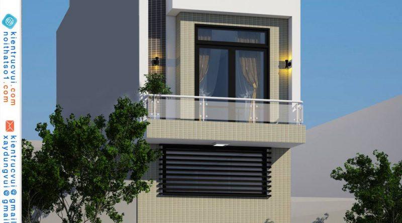 Nhà phố 3 tầng đẹp Anh Đạt Xã Quang Tiến Huyện Tân Yên Tỉnh Bắc Giang
