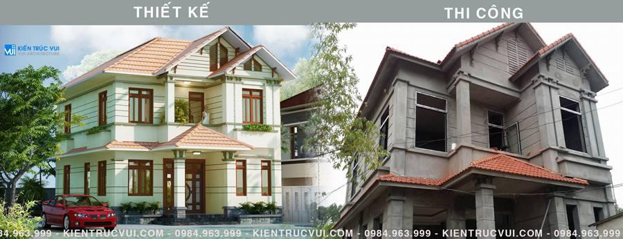 Tác dụng việc thuê thiết kế nhà đẹp ở tại Bắc Giang