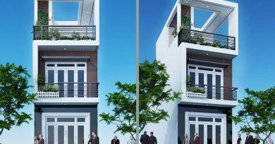 Thiết kế nhà phố 3 tầng Anh Cường huyện Tân Yên Tỉnh Bắc Giang