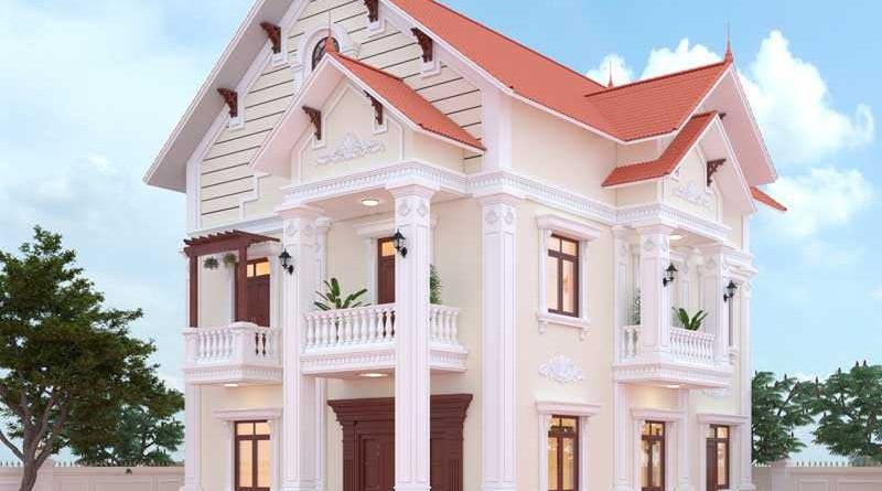 Biệt thự 2 tầng cổ điển Anh Giang Lục Ngạn Bắc Giang