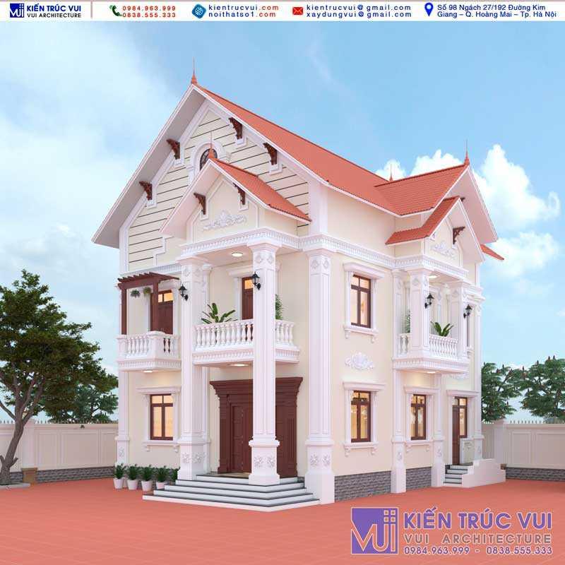 Biệt thự nhà Anh Giang - Lục Ngạn - Bắc Giang