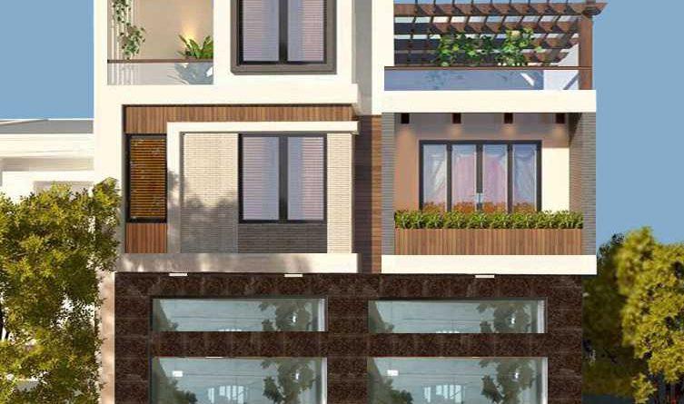 Thiết kế nhà phố kết hợp kinh doanh quầy thuốc tại Lục Ngạn Bắc Giang