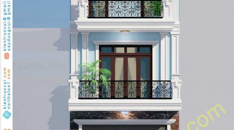 Nhà phố 3 tầng hiện đại xã Tam Hiệp huyện Yên Thế tỉnh Bắc Giang