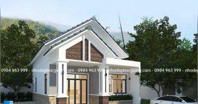 Hơn 500 mẫu thiết kế nhà đẹp giá rẻ ở tại tỉnh Bắc Giang