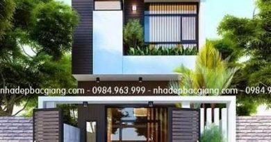 Thiết kế nhà phố 600tr Anh Hiếu Khu 2 Thị trấn Thắng Hiệp Hòa Bắc Giang