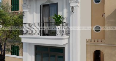 Nhà phố 2 tầng tân cổ điển nhỏ xinh Chị Mai đường Tuệ Tĩnh TT Thắng huyện Hiệp Hòa