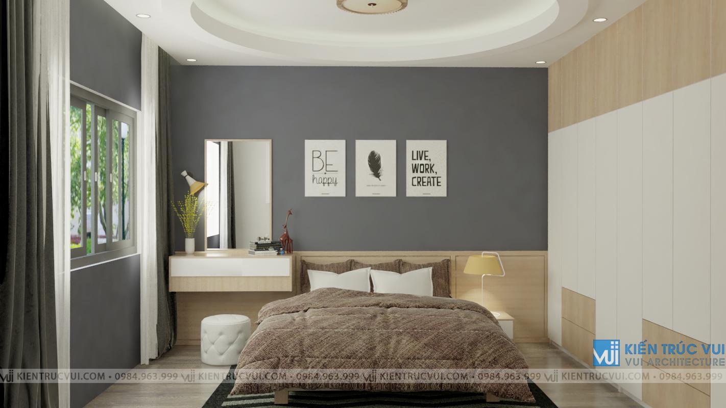 Phối cảnh nội thất phòng ngủ góc 1