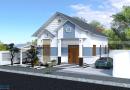 Nhà Mái Thái Đẹp Chị Tuyết Xã Nội Hoàng Huyện Yên Dũng Tỉnh Bắc Giang