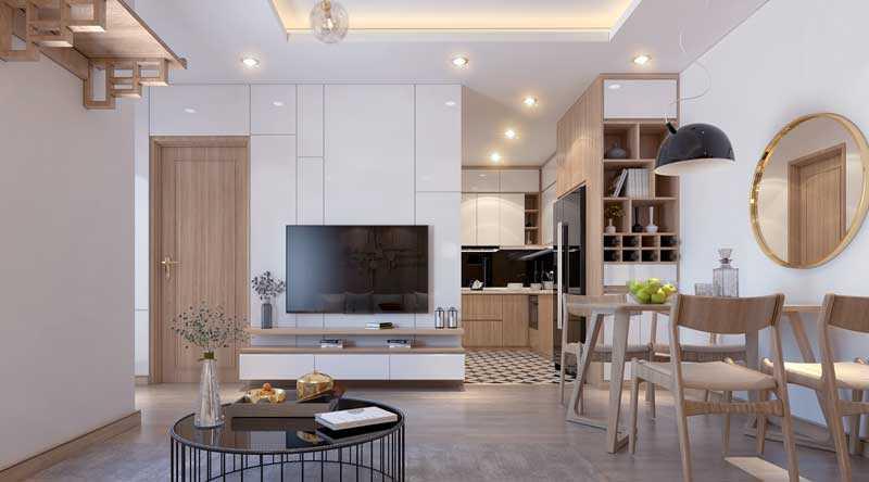 Một góc căn hộ chung cư Đồng Cửa view1