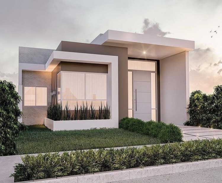 Mẫu thiết kế nhà cấp 4 mái thái 1 tầng - mẫu 2