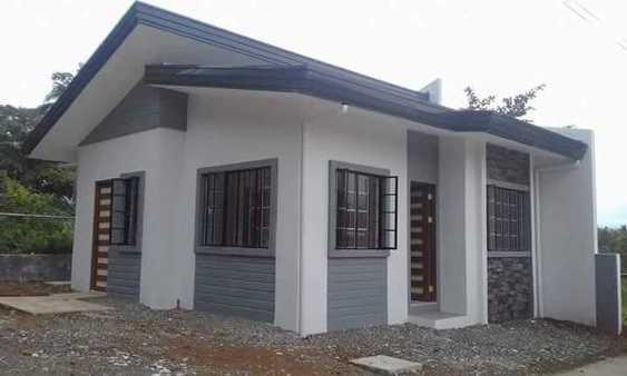 Mẫu thiết kế nhà cấp 4 mái thái 1 tầng - mẫu 6