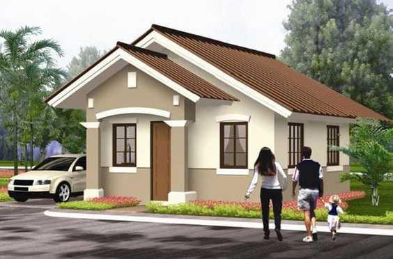 Mẫu thiết kế nhà cấp 4 mái thái 1 tầng - mẫu 24