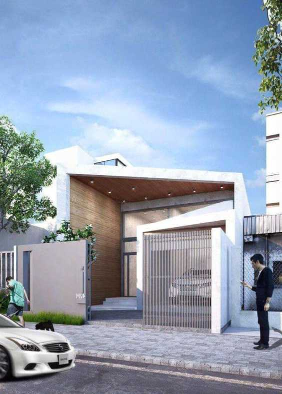 Mẫu thiết kế nhà cấp 4 mái thái 1 tầng - mẫu 47