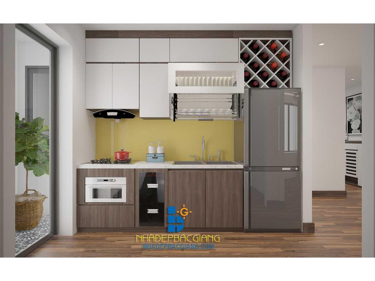 Phòng bếp nhà Anh Chung