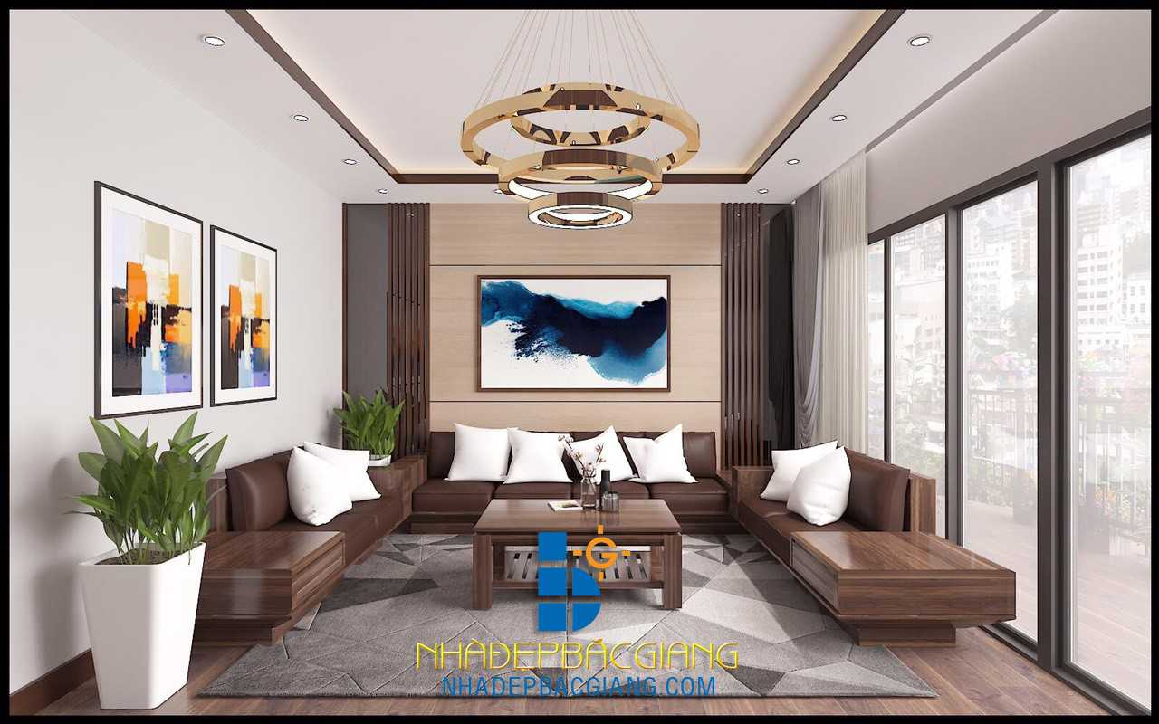 Nội thất chung cư Anh Thắng P401 Bách Việt Bắc Giang