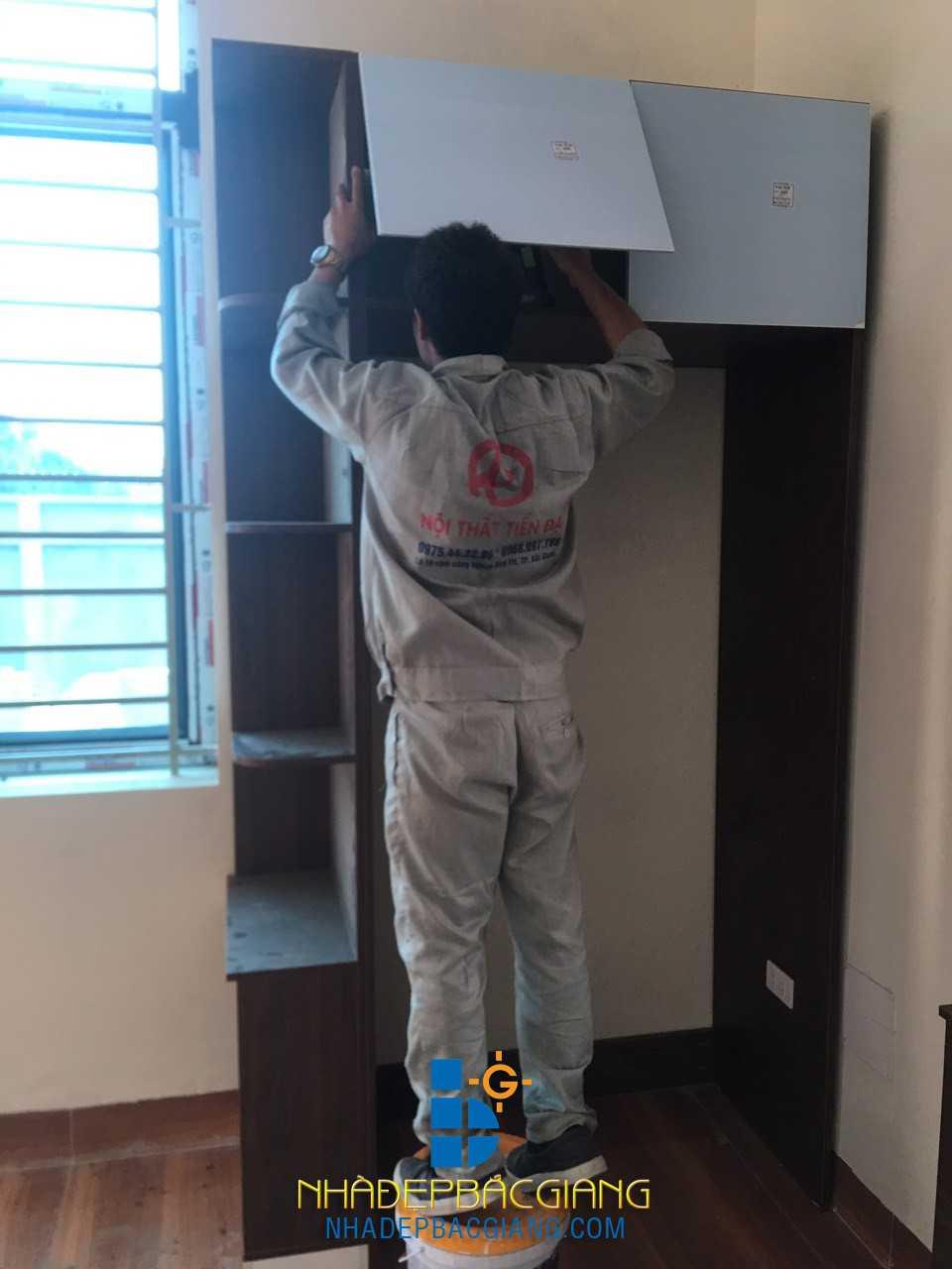 Nội thất nhà Anh Trường KĐT Lạc Phú, TT. Nham Biền, huyện Yên Dũng