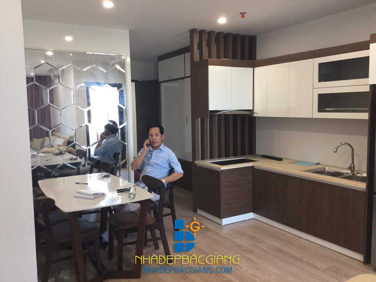 Nội thất chung cư Bách Việt Bắc Giang của Anh Việt