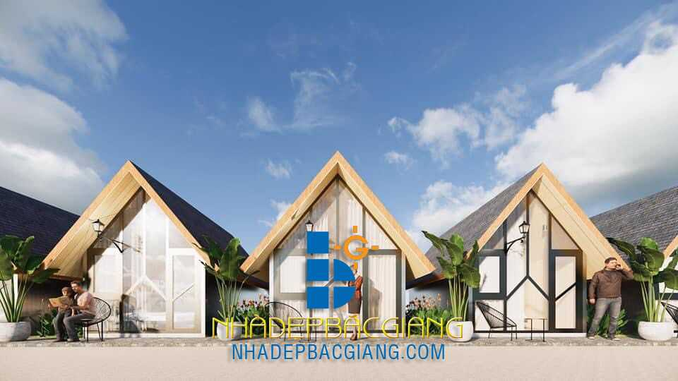 Thi công nội thất Bugalow Tuần Châu Resort Quảng Ninh