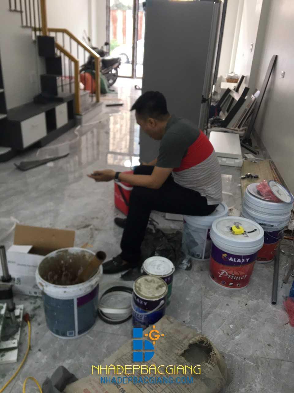 Nội thất hiện đại nhà Chị Dung Dĩnh kế Tp Bắc Giang