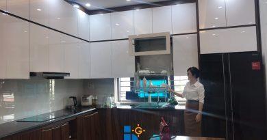 Hoàn tất nội thất nhà Anh Huy Đường Lê Hồng Phong Tp Bắc Giang