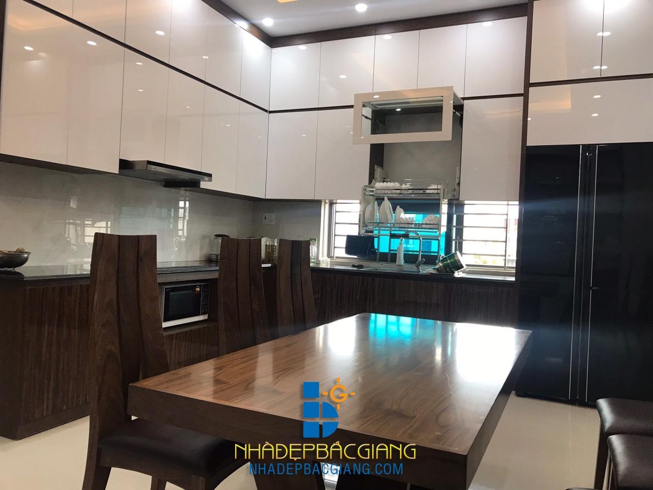 Phối cảnh nội thất khu bếp