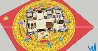 Hướng dẫn cách đo góc 8 cung và xác định hướng nhà dễ thực hiện