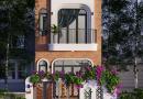 Thiết kế nhà 2 tầng phố hiện đại chất lạ Anh Thành Yên Thế Bắc Giang