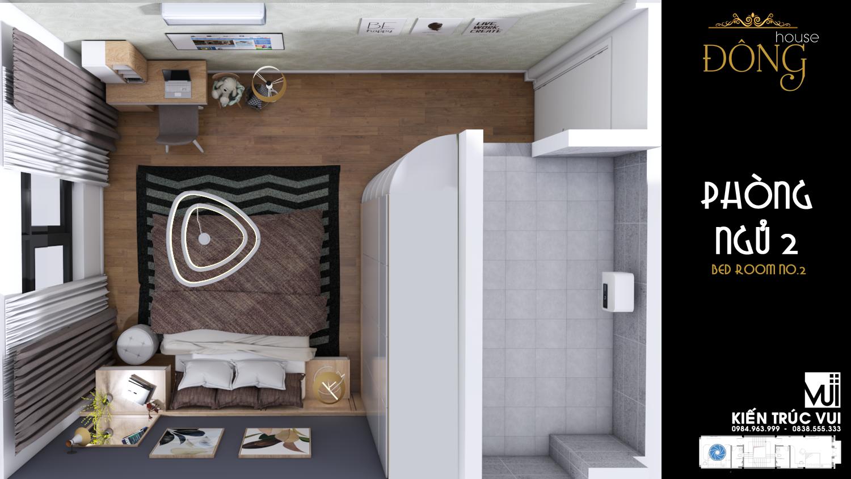 Nội thất phòng ngủ 2 hiện đại