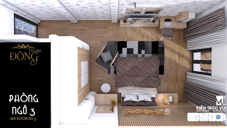 Nội thất phòng ngủ 3 hiện đại