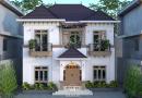 Nhà vườn 2 tầng phong cách địa trung hải Anh Đạt huyện Việt Yên tỉnh Bắc Giang