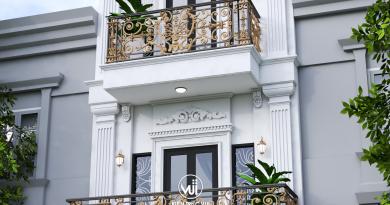 Nhà phố tân cổ 4 tầng Anh Đông thành phố Bắc Giang siêu đẹp
