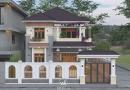 Thiết kế nhà 2 tầng mái nhật Anh Xuân huyện Việt Yên tỉnh Bắc Giang