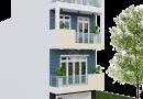 Thiết kế nhà phố 4 tầng hiện đại Anh Thịnh khu đô thị Bách Việt Bắc Giang