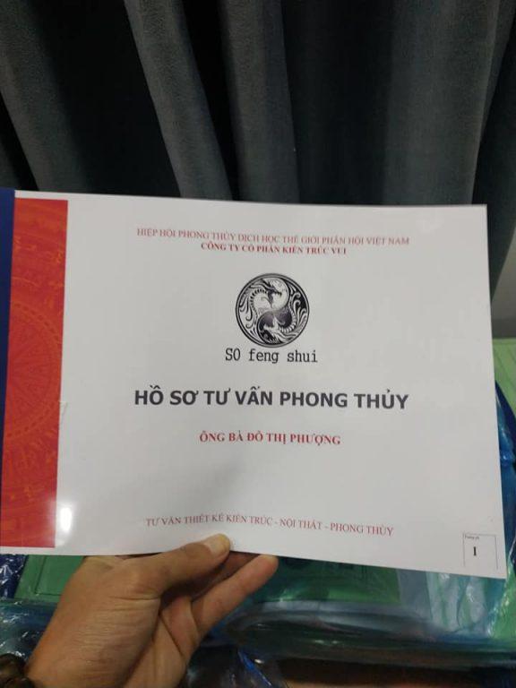Mẫu hồ sơ tư vấn Phong Thủy Nhà Ở Tại Tỉnh Bắc Giang